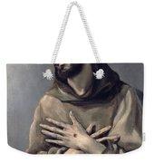 Saint Francis In Ecstasy Weekender Tote Bag