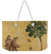 Saint Francis Of Assisi Preaching To The Birds Weekender Tote Bag