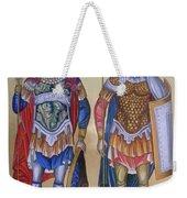 Saint George And Saint Dimitrios Weekender Tote Bag