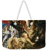 Saint George And The Dragon Weekender Tote Bag
