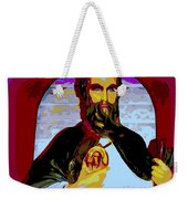 Saint Holding Medallion Weekender Tote Bag