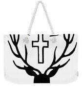 Saint Huberts Stag Weekender Tote Bag