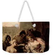 Saint Isabel Of Portugal Healing The Wounds Of A Sick Woman Weekender Tote Bag