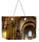 Saint Isidore - Romanesque Temple Transept Weekender Tote Bag