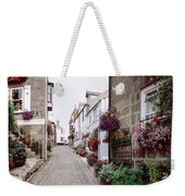 Saint Ives Street Scene, Cornwall Weekender Tote Bag