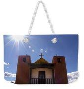Saint Jeromes Chapel Taos Pueblo Weekender Tote Bag