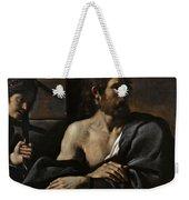 Saint John The Baptist In Prison Visited By Salome Weekender Tote Bag