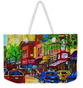 Saint Lawrence Street  Weekender Tote Bag