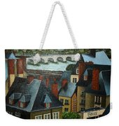 Saint Lubin Bar In Lyon France Weekender Tote Bag