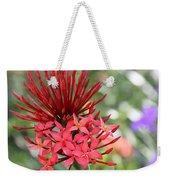 Saint Lucia Flower IIi Weekender Tote Bag