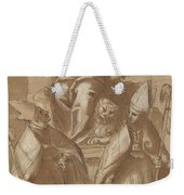 Saint Mark With Two Bishops And Putti Weekender Tote Bag