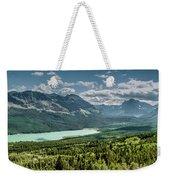 Saint Mary Lake Panorama Weekender Tote Bag