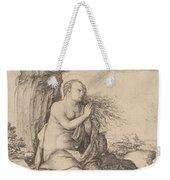 Saint Mary Magdalene In The Desert Weekender Tote Bag