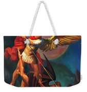 Saint Michael The Warrior Archangel Weekender Tote Bag