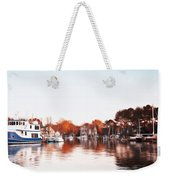 Saint Michael's Harbor Weekender Tote Bag by Bill Cannon
