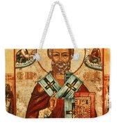 Saint Nicholas Weekender Tote Bag