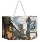 Saint Paul At Athens Weekender Tote Bag