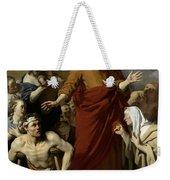 Saint Paul Healing The Cripple At Lystra Weekender Tote Bag