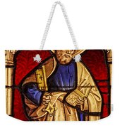 Saint Peter  Stained Glass Weekender Tote Bag