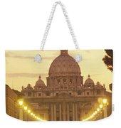 Saint Peters Cathedral In The Vatican Weekender Tote Bag