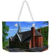 Saint Peters Roman Catholic Church In Harpers Ferry West Virginia Weekender Tote Bag