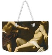 Saint Sebastian Succoured By The Angels Weekender Tote Bag