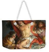 Saint Sebastian Tended By Saint Irene Weekender Tote Bag