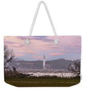 Saint Simon Island Lighthouse Weekender Tote Bag