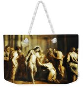 Saint Thomas Touching Christ's Wounds Weekender Tote Bag