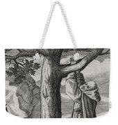 Saint Victorinus Does Penance Weekender Tote Bag