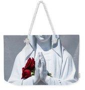 Saint Virgin Mary Statue #1 Weekender Tote Bag