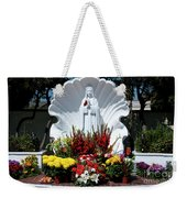 Saint Virgin Mary Statue #2 Weekender Tote Bag