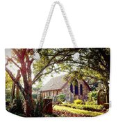 Saintly Sunset Weekender Tote Bag