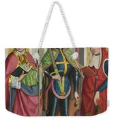 Saints Ambrose Exuperius And Jerome Weekender Tote Bag