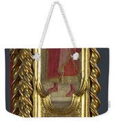 Saints Nicholas Damian And Margaret   Right Pilaster Weekender Tote Bag
