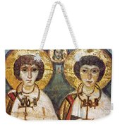 Saints Sergius And Bacchus Weekender Tote Bag by Granger