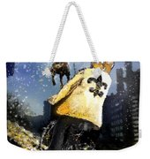 Saints Summit In New Orleans Weekender Tote Bag