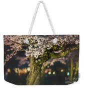 Sakura At Night Weekender Tote Bag