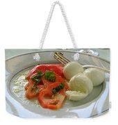 Salad Caprese Weekender Tote Bag