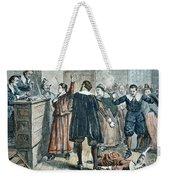 Salem Witch Trials Weekender Tote Bag