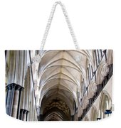 Salisbury Cathedral Weekender Tote Bag
