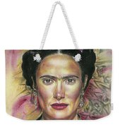 Salma Hayek As Frida Kahlo Weekender Tote Bag
