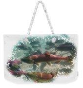Salmon Migration Weekender Tote Bag