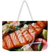 Salmon Salad Weekender Tote Bag