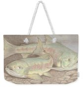 Salmon Spawn Weekender Tote Bag