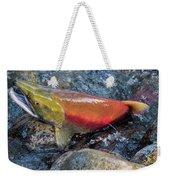Salmon Spawning Weekender Tote Bag