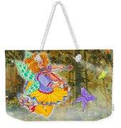 Salmonberry Fairy Merri Goldentree Weekender Tote Bag