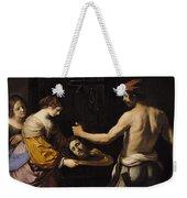 Salome Receiving The Head Of St John The Baptist Weekender Tote Bag