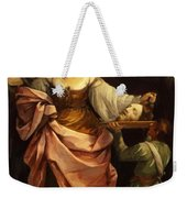 Salome With The Head Of St John Baptist 1640 Weekender Tote Bag