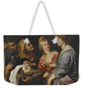 Salome With The Head Of St. John The Baptist Weekender Tote Bag